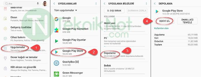 Google Play Store Hata Kodları ve Çözümleri