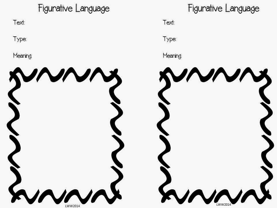 Peek at My Week and a Figurative Language Freebie