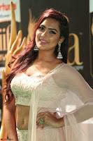 Prajna Actress in backless Cream Choli and transparent saree at IIFA Utsavam Awards 2017 0127.JPG