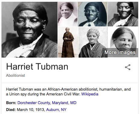 "a history of harriet tubman an african american abolitionist Abolitionist william lloyd garrison called her ""moses"" after [harriet tubman] how has your understanding or knowledge of african-american history changed."