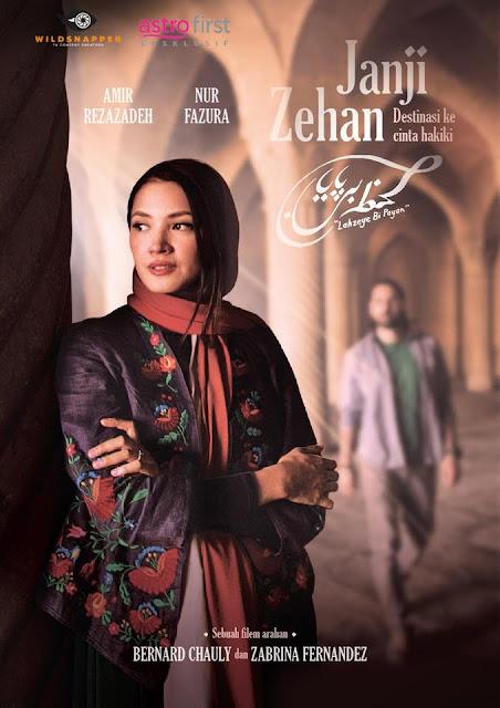 Telemovie Janji Zehan Lakonan Amir Rezazadeh, Nur Fazura, Bront Palarae