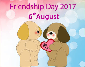 Friendship Day 2017 Dates with Country Wise around the World