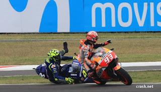 Rossi: Marquez Merusak MotoGP