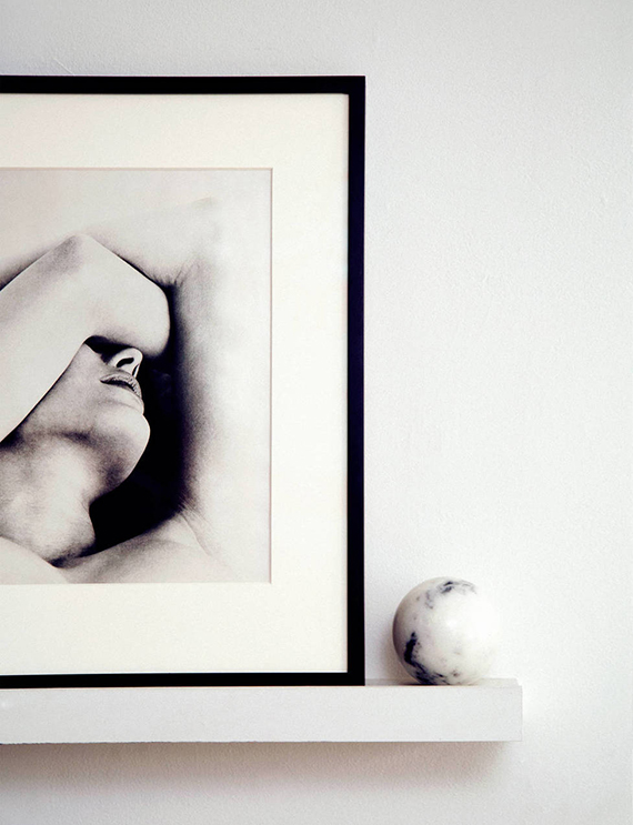 Art display shelf via The Line