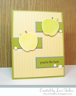 You're the Best card-designed by Lori Tecler/Inking Aloud-stamps and dies from Reverse Confetti