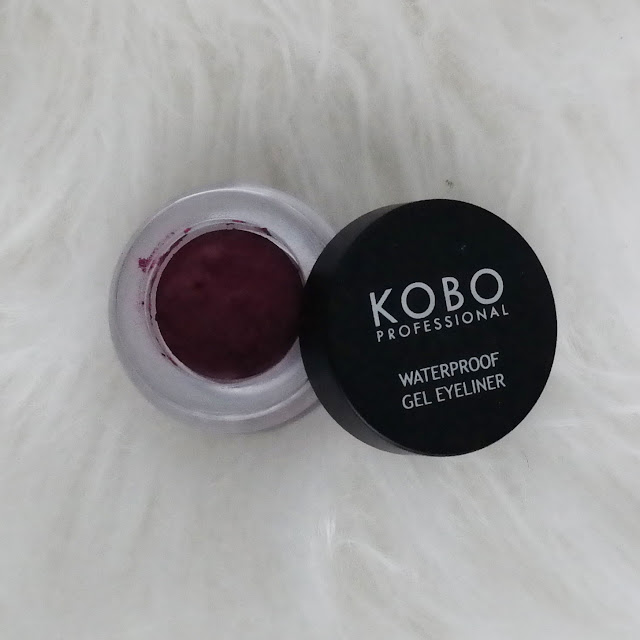 Kobo, Waterproof gel eyeliner Plum