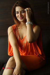 Actress Saloni Aswani Pos in Short Dress at Meelo Evaru Koteeswarudu Movie Interview  0184.JPG