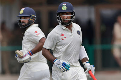 Pujara and Murali Vijay Batted Brilliantly