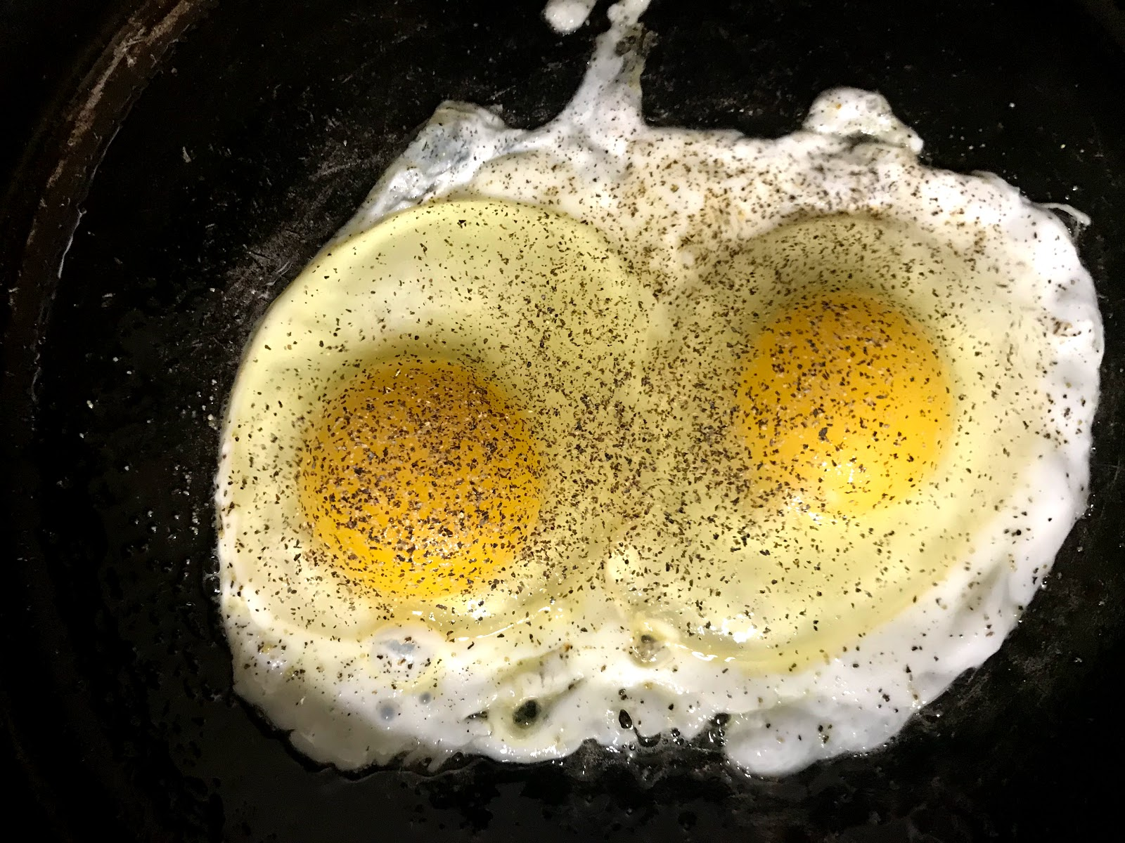 Image: Fried egg in a pan