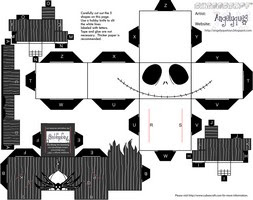 Descargar cubeecraft Jack Skeleton, especial Halloween