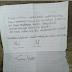 Menyayat Hati, Surat Siswa MI Madigondo Takeran untuk Korban Bencana Pacitan