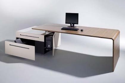25 Desain Meja Kantor Minimalis Yang Modern Dengan Harga Murah