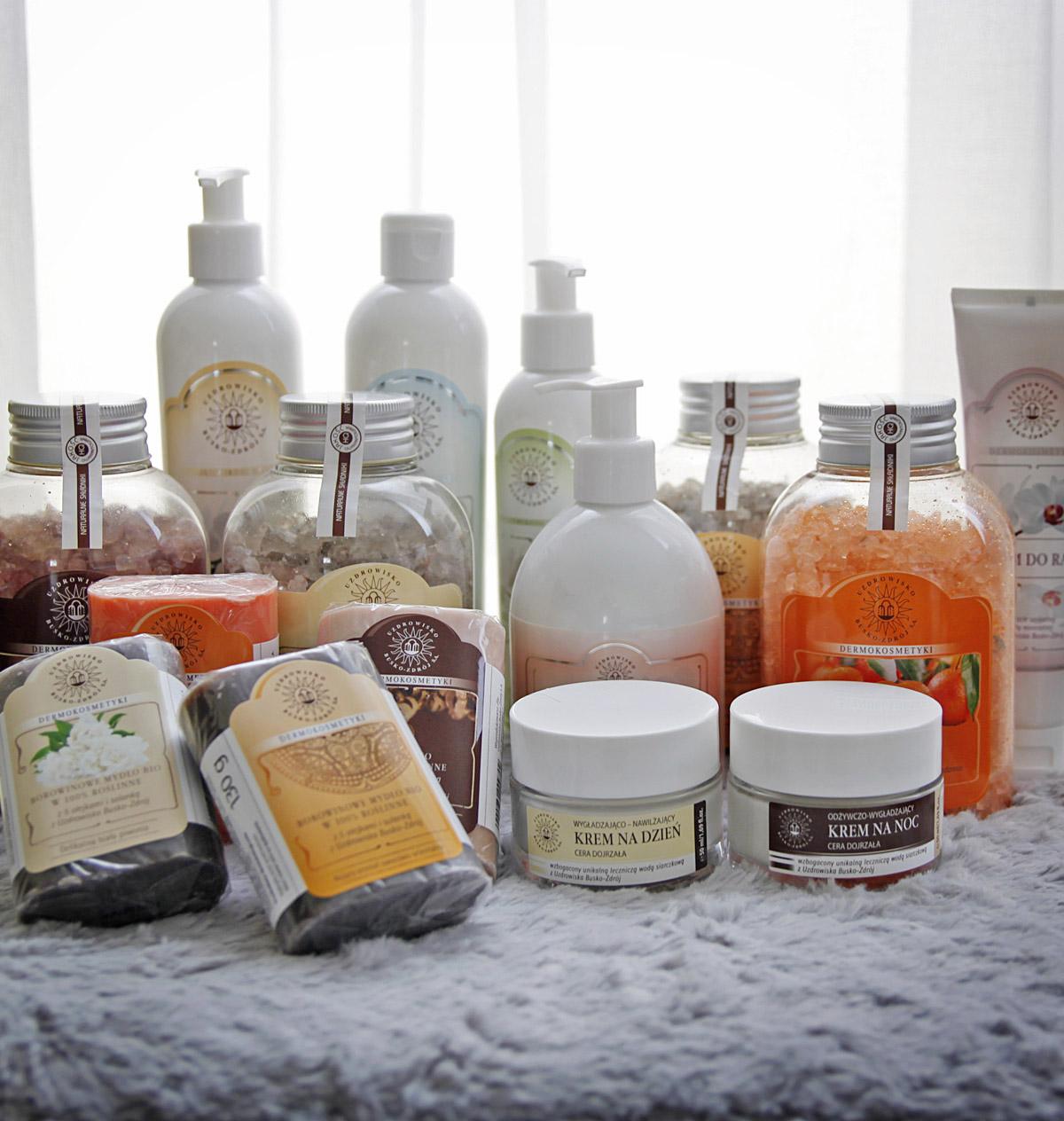 domowe spa - kosmetyki z uzdrowiska