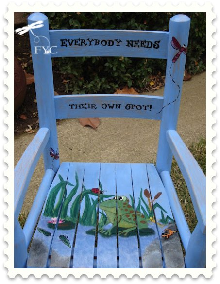 Everybody Needs Their Own Spot!  Finish Your Crafts