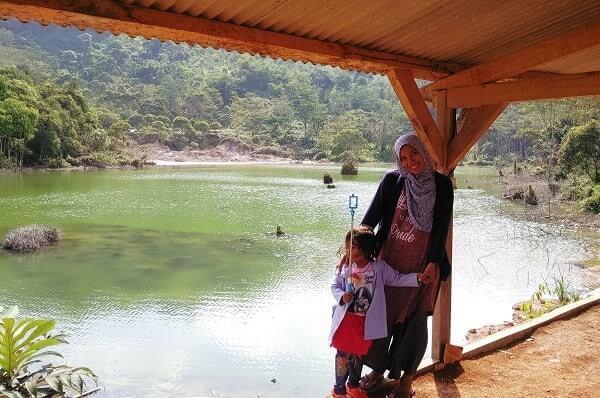 danau hijau ulubelu