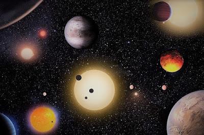 Scoperti pianeti abitabili come la Terra