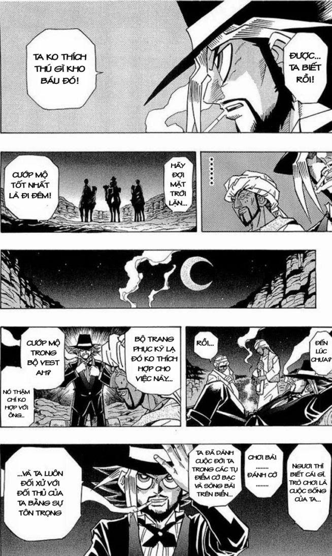 YUGI-OH! chap 279 - báu vật ngàn năm trang 6