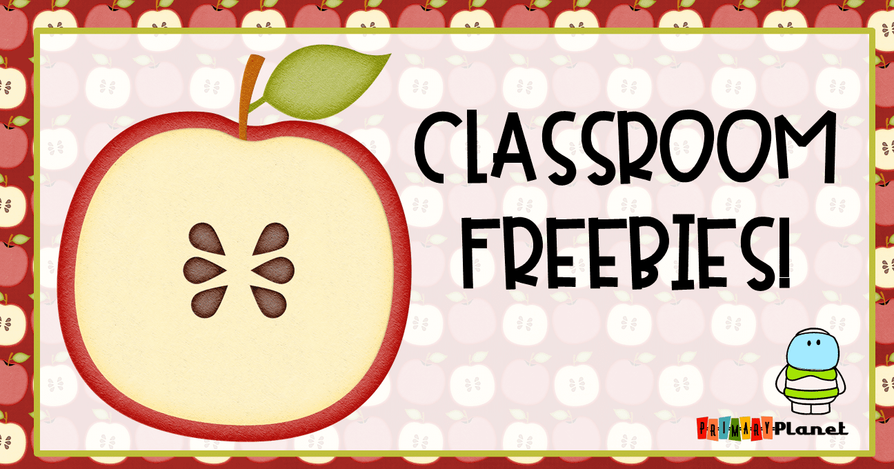I am blogging at Classroom Freebies!  Head over there and check out my first post!