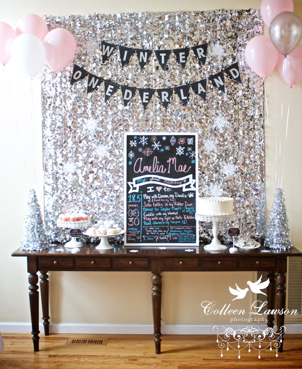 Reader Style A Winter Onederland First Birthday Party