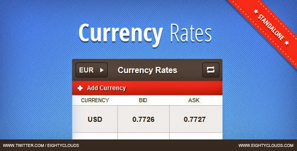 Free Currency Rates Scripts
