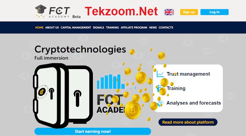 [SCAM] Review FCT Academy - Dự án đầu tư vào công ty tài chính Hong Kong - Lãi Up 30% hằng tháng