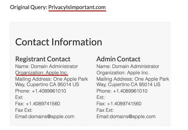 PrivacyIsImportant