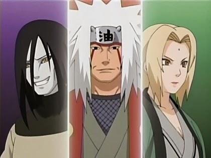 3 นินจาในตำนาน (Legendary Three Ninja/ Sannin)
