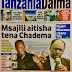 HAYA HAPA MAGAZETI YA LEO JUMATATU MACHI 5,2018 -NDANI NA NJE YA TANZANIA