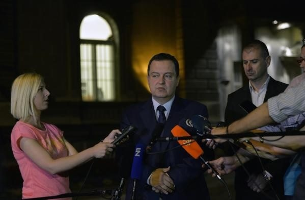 Dacic: Albanians planned to attack a Serbian embassy