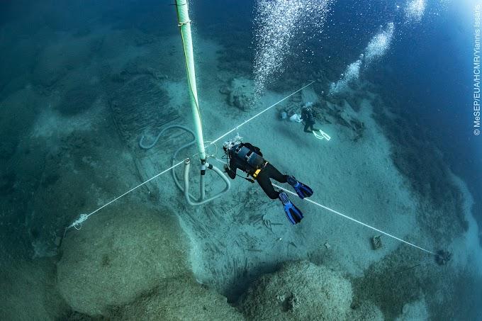 Και άλλα ευρήματα της αρχαιολογικής ανασκαφής 2019 στο ναυάγιο ΜΕΝΤΩΡ