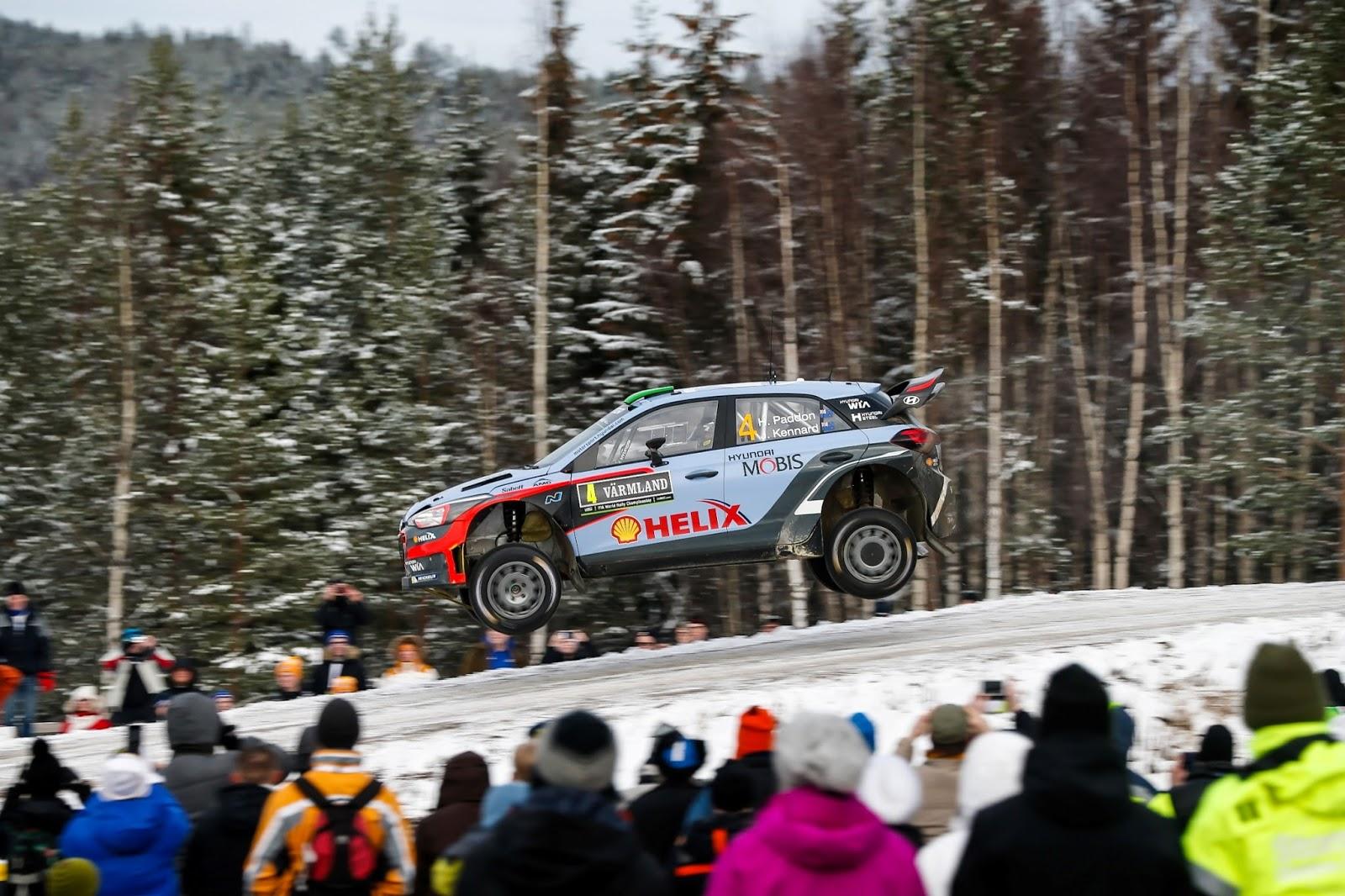 160215 WRC%2BSweden%2BPodium%2B1 Η Hyundai Motorsport κατέκτησε τη 2η θέση στο Ράλι Σουηδίας Hyundai, Hyundai i20, Hyundai i20 WRC, Rally, videos, WRC