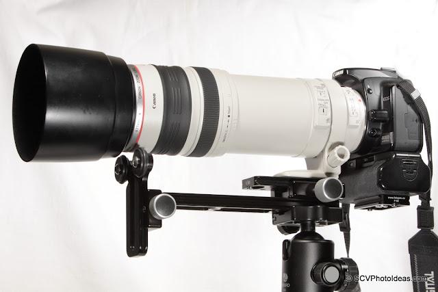 Versatile Long Lens Support Bracket - side overview