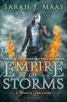 Image result for empire of storms by sarah j maas