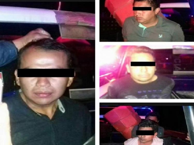 Salen de la cárcel regidores que asaltaron un Oxxo en Hidalgo.