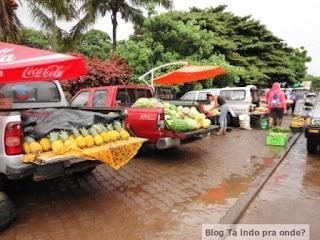 feira em Hanga Roa