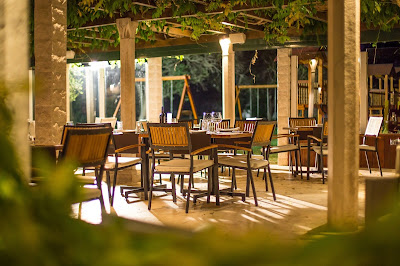 Restaurant in Sveti Stefan