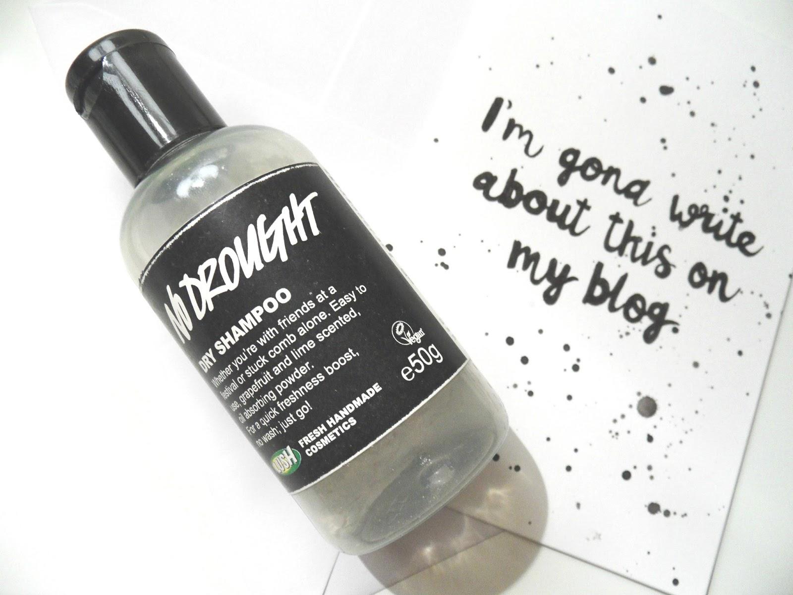 Lush Dry Shampoo Lush No Drought Eyelinerflicks