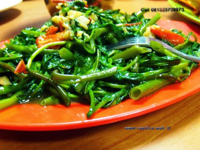 Resep tumis kangkung nasi box cimanggu ciwidey