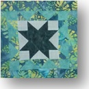 CHQuilts: double star block