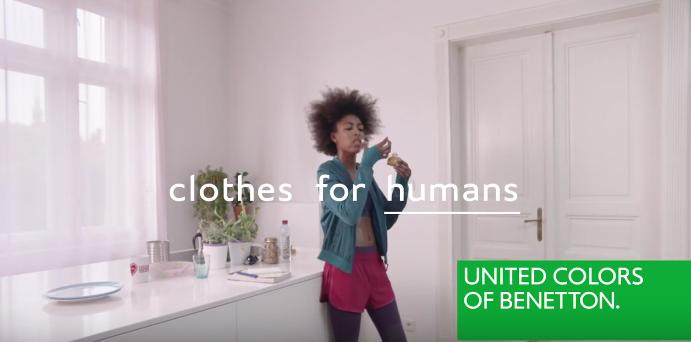 Canzone Benetton pubblicità Clothes for Humans, Dilemma - Musica spot Gennaio 2017