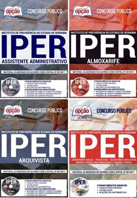 Apostila Concurso IPER-RR 2017/2018