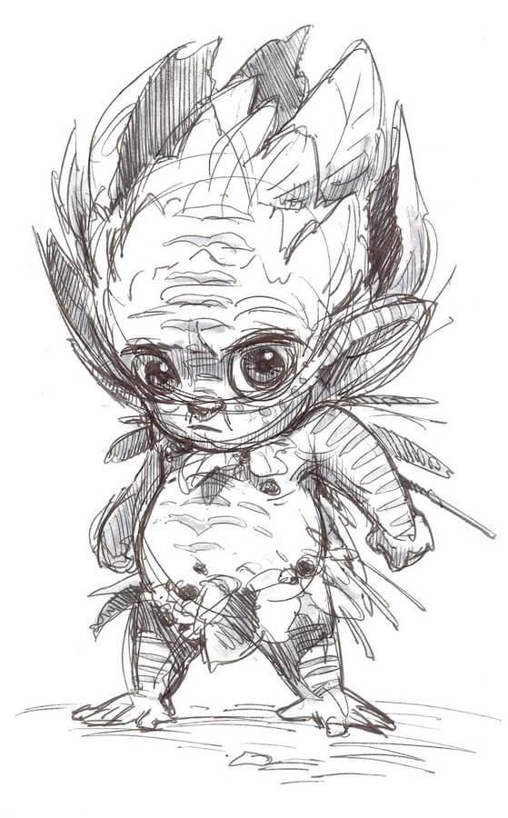 03-Aaron-Blaise-Creature-Sketches-www-designstack-co
