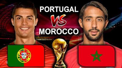 """عريضة دولية تطالب """"الفيفا"""" بإعادة مباراة المغرب والبرتغال"""