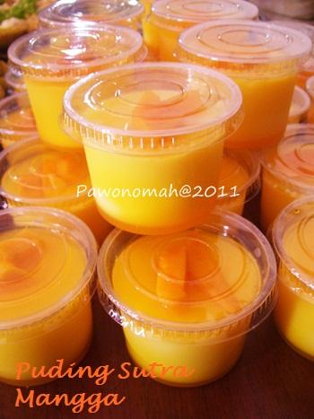 Puding Sutra Mangga  PAWONOMAH