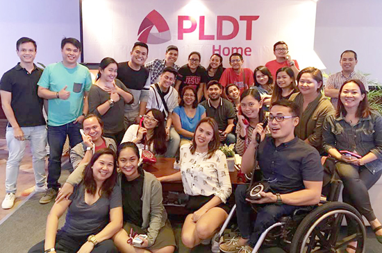 Davao Digital Influencers and Davao Bloggers at PLDT Home Regine Series