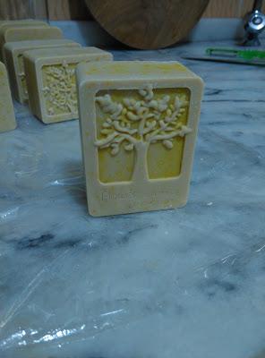 kükürtlü doğal sabun