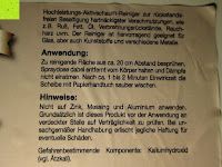 Scheibenreiniger Anwendung: Naturstein und Specksteinofen-Pflegeset 4 tlg.