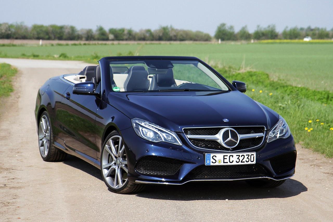 © Automotiveblogz: 2014 Mercedes-Benz E-Class Cabriolet Photos