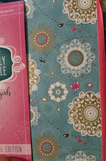 NIV Holy Bible for Girls Journal Edition close up