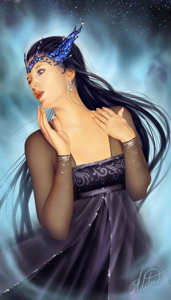 Lovely Digital Artwork by Adelenta